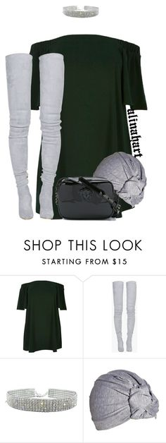 """""""$"""" by alinahartikainen ❤ liked on Polyvore featuring River Island, Balmain, ASOS, Versace and plus size dresses"""