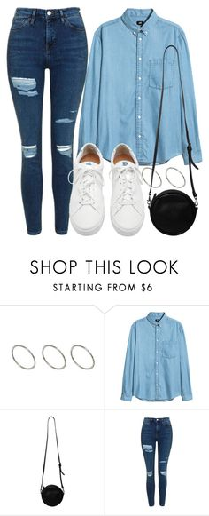 """Untitled #4434"" by beatrizvilar on Polyvore featuring ASOS, Monki, Topshop and Loeffler Randall"