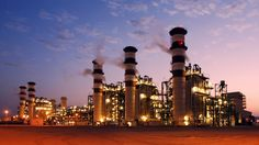 Shuweihat is the most efficient power station and desalinization facility in the world.