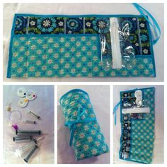 Roll-N-Go Carrier for Tube Feeding ~~~ this is an easy homemade project that makes it more 'personal' to self or loved one <3