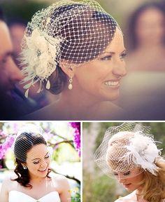 voillete noiva casamento ideias Wedding Fascinators, Wedding Hats, Wedding Veils, Bridal Headpieces, Wedding Bride, Dream Wedding, Bridal Hat, Bridal Crown, Bride Hairstyles
