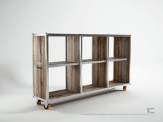 Roadie collection by Karpenter table stool shelf recycle crate cabinet furniture 2 bench