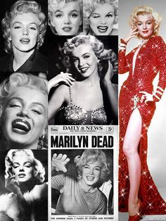 Aug 5 - 53 years ago today, Marilyn Monroe is found dead in her home at the age of 36.