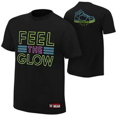 "WWE Naomi ""Feel the Glow"" Authentic T-Shirt"