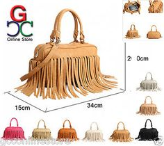 New Tassel Fringe Handbag