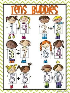 Freebie: Tens Buddies