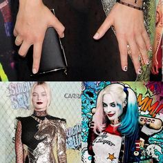 We've been counting down the days until the premiere of Suicide Squad   And if we weren't totally fangirling over @margotrobbie already…Celebrity manicurist, @enamelle gave us the details on how she created Margot's #RedCarpetManicure nail look - check our Facebook for all the details! #rcmnailit #suicidesquadmovie