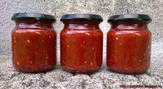 Erős Pista :Hozzávalók a házi paprikakrémhez: - 25 dkg hegyes erős paprika - 90 dkg kápia paprika - 55 dkg cseresznyepaprika - 1 csapott mokkáskanál citromsav - 20 dkg konyhasó