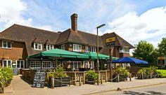 The Horse Shoe Pub in Warlingham near Croydon Surrey England