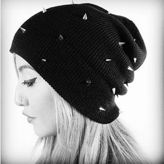 ccf2a04e0a1 Beanie Hats Cone Spikes Studded 6 Colors