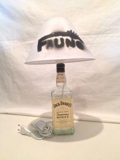 Lámpara Jack Daniels Honey. Merchandising Fauno