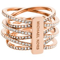 Ideas Jewerly Accessories Bracelets Jewels For 2019 Michael Kors Ring, Bijoux Michael Kors, Michael Kors Armband, Michael Kors Schmuck, Michael Kors Outlet, Handbags Michael Kors, St Michael, Steel Jewelry, Jewelry Rings