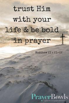 Mathew 21 :21-22