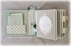 Sew Creative: Baby Boy Mini Album Using Project Life Cards ~ Plus a Video Walk Through ~