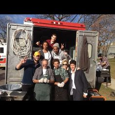 Waves for Water + The Rockaway Plate Lunch Truck feeds Hurricane Sandy Victims a Hot Thanksgiving dinner