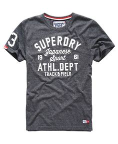 Mens T-Shirts   Plain, Striped   Long Sleeve Tees. T Shirt ArtSuperdry ... 31f6fad127