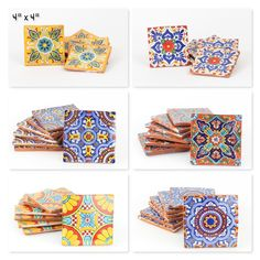 Our Talavera tiles can be used for flooring, counters, back splashes, table tops, or decorative accents. Mexican Home Decor, Decorative Accents, Home Decor Items, Ceramic Pottery, Accent Decor, Tiles, Home And Garden, Flooring, Ceramics