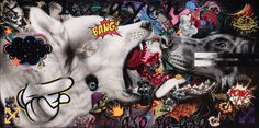 View DOGWARS by Ronald Ventura on artnet. Browse upcoming and past auction lots by Ronald Ventura. Southeast Asian Arts, Art Auction, Collage Art, Modern Contemporary, Art Drawings, Past, Filipino, Painters, Artist