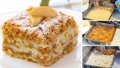 Gestreuter Tassenkuchen mit Äpfeln Sure you know the delicious apple pie with pudding. This is a recipe for a simple but delicious apple pie. Czech Recipes, Croatian Recipes, Cookie Recipes, Dessert Recipes, Pudding Desserts, Cupcake Recipes, Something Sweet, No Bake Cake, Food Inspiration