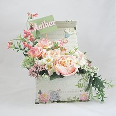 Mothers Day Floral Arrangement  Mothers Day by AlwaysInBloomFloral, $32.00