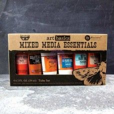 Prima - Art Basics - Mixed Media Essentials (6 pack)