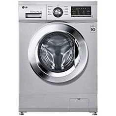 LG 7 kg Inverter Fully-Automatic Front Loading Washing Machine price in india Luxury Silver, Inbuilt Heater) - India Smart Price Washing Machine Price, Black Mountain Bike, Mountain Bicycle, Low Water Pressure, Refrigerators, Appliances, India, Luxury