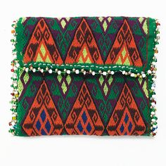 Afghanistan: Vintage Embroidered Hazara Wallet or Pouch, Afghan Tribal Arts /// http://www.tafaforum.com/market/tafa-market-accessories/bags-and-purses/