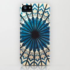 Blue orient  iPhone Case by Magda♥bee -