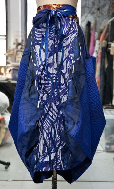 Art made from different textures and patterns - Google Search #wardrobechallenge (I've got this pattern...Issey Miyake)