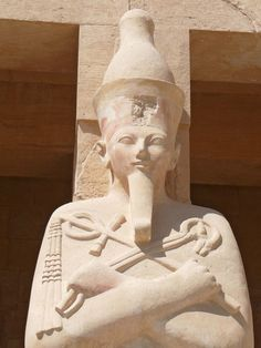 Hatshepsut, also spelled Hatchepsut, female king of Egypt (reigned in her own right c. 1473–58 BCE) who attained unprecedented power for a woman, adopting the full titles and regalia of a pharaoh.  #EncyclopaediaBritannica