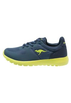 KangaROOS Sneaker low navy/lime für Kinder