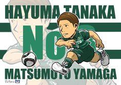 田中隼磨選手のイラストも(*^^*) 今度ベアスタで、もしこのイラストが欲しい山雅サポさんがいらっしゃれば先着一名様に差し上げます(*^^*) #松本山雅