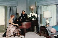 Lucille Ball and Desi Arnaz....Uploaded By www.1stand2ndtimearound.etsy.com