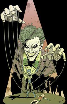 The Joker by JakeBartok via deviantart