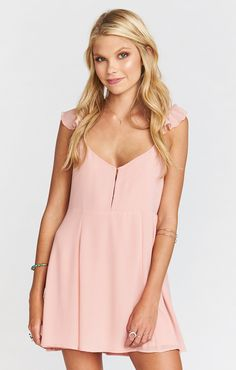 Delilah Dress ~ Rosebud Chiffon | Show Me Your Mumu