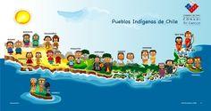mapa de un pueblo para ninos - Google Search Spanish Teacher, Teaching Spanish, Elementary Spanish, Elementary Schools, Chile Independence Day, Spanish Speaking Countries, National Holidays, How To Speak Spanish, Activities For Kids