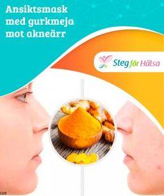 Ansiktsmask med gurkmeja mot akneärr Även om ingredienserna är väldigt effektiva för att minska ärr, var uppmärksam på allergiska reaktioner. Om din hud reagerar mot maskerna ska du inte använda dem eftersom det kan ge motsatt effekt.
