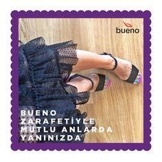 Bueno Shoes, zarafetiyle hayata mutluluk katmaya devam ediyor... 👉 @ misspirenka 💃  #buenoshoes #ayakkabı