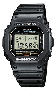 CASIO DW-5600E-1VZ - ZEGAREK G-SHOCK DW 5600E 1VZ