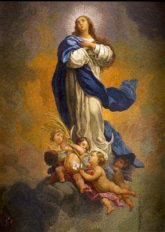 Mosaico. Inmaculada Concepción de Murillo.
