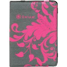 iPad Mini Folio Case & Adjustable Stand - Filigree Pink