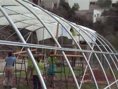 Construcción de un Invernadero Casero de PVC - YouTube