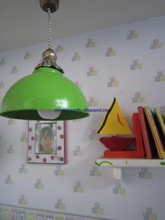 LAS MINIS DE MARICHU: Non-working hanging lamp - Spanish
