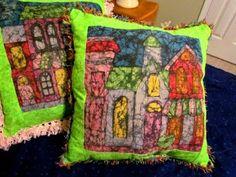 How to make batik fabric with crayons! Fun tutorial!