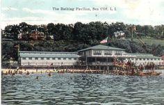 Sea Cliff Long Island New York The Bathing Pavilion 1909 | eBay