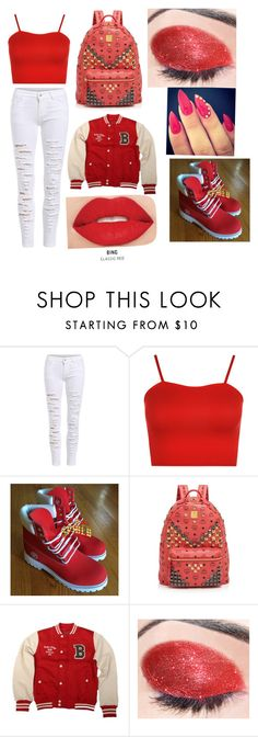"""""""School Flow"""" by smartgirlrae on Polyvore featuring WearAll, MCM, Brave Soul and Smashbox"""
