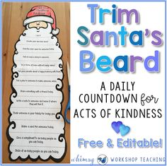 This is the most popular Christmas craft project we do each year in class. It's about kindness, involves the whole family, and spreads kindness to others.
