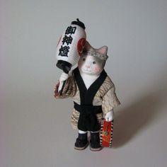 縮緬福猫 祭猫 その二