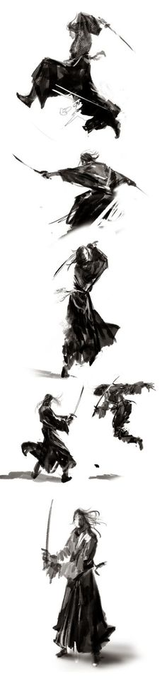 Ronin Samurai, Samurai Warrior, Japanese Culture, Japanese Art, Mc Bess, Samurai Artwork, Samurai Tattoo, Poses References, Action Poses