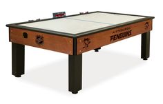 The Pittsburgh Penguins Air Hockey Table